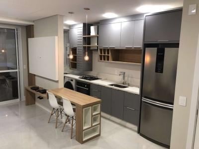 Apartamento de Solteiro Moderno e Funcional