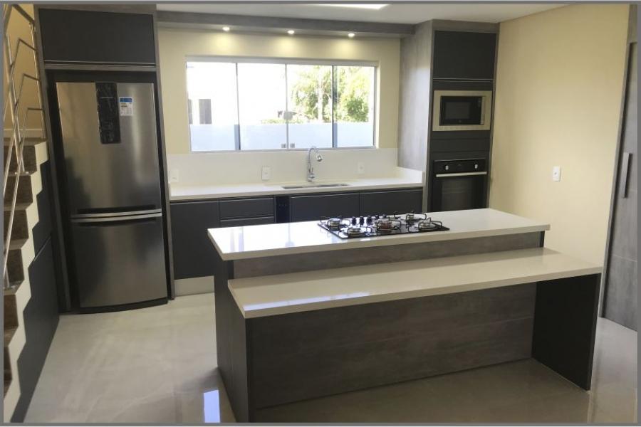 Cozinha Cinza Escuro - Projeto