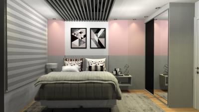 Criando um quarto para uma jovem menina