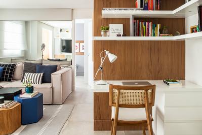 Organizando pequenos espaços com um bom projeto
